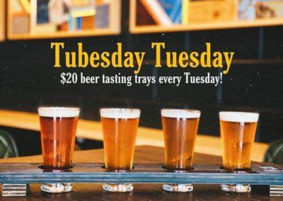 Rogue Hop Beer Tasting Trays